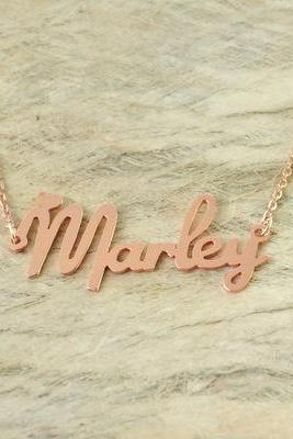 Your own name necklace.Personalized necklace.name necklace.