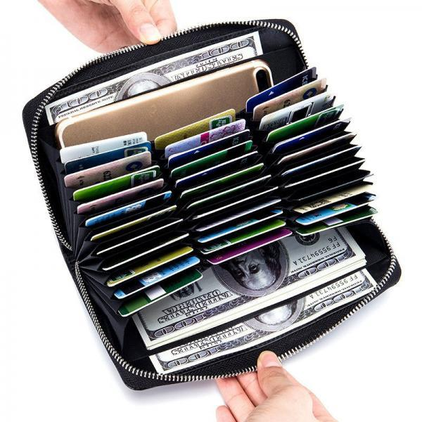 High Capacity 36 Card Slots Wallet