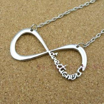 Infinity Forever One Directioner - Infinity One Direction Necklace, One Direction Charm Necklace, Graduation, Friendship, Bridesmaid Gift